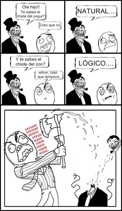 chiste troll